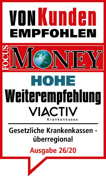 Hohe Weiterempfehlung_2020_VIACTIV Krankenkasse_Logo-01